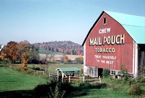 Mail Pouch Barn Somerset County, PA Ocober 1978