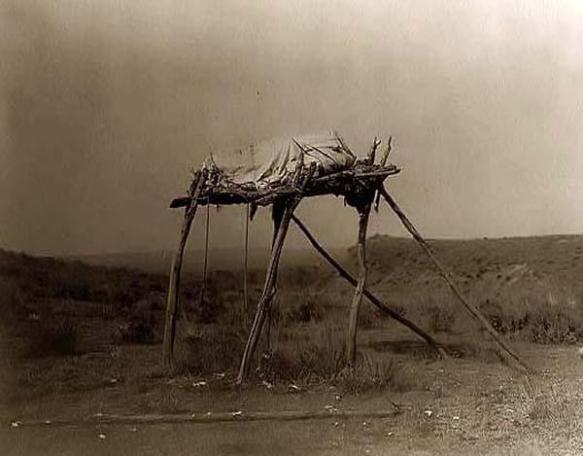 Indian-Burial-Platform