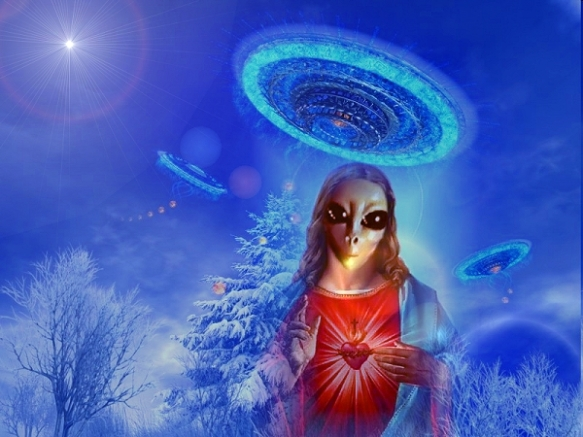 Jesus ET extrateterrestres alienigenas 1