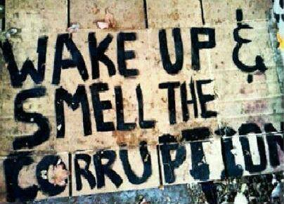 Corruption - Wake up